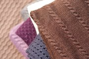 Плед,  Вязанный плед. Текстиль для дома.