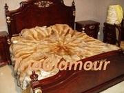 Пошив меховых покрывал,  пледов,  ковров,  подушек в Донецке !Лучшие цены